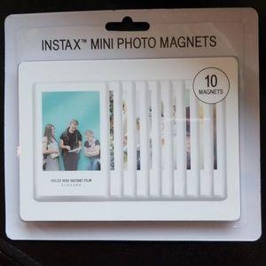 Instax mini photo magnets